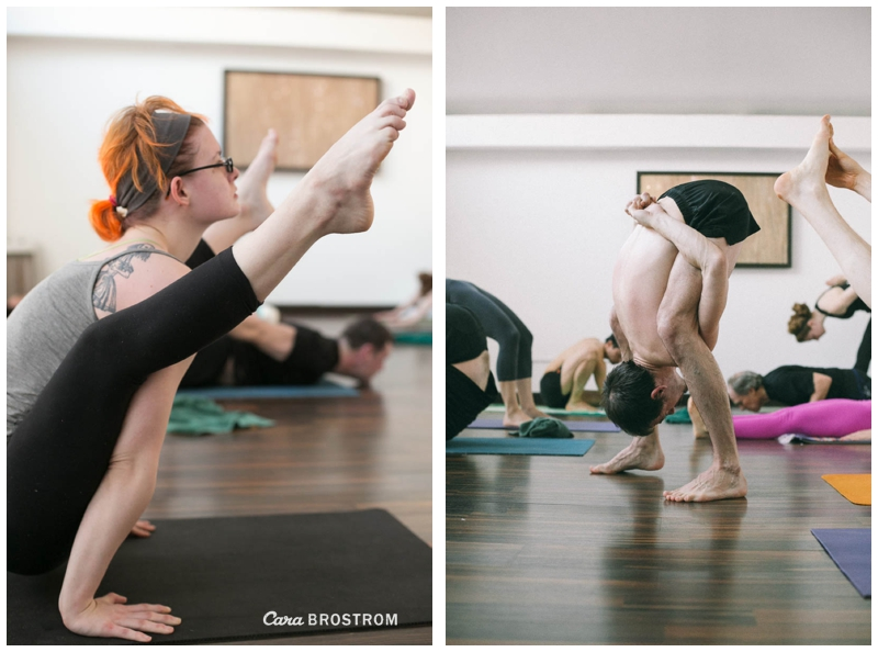 Tittibasana, Intermediate Series Ashtanga Yoga - Photography by Cara Brostrom