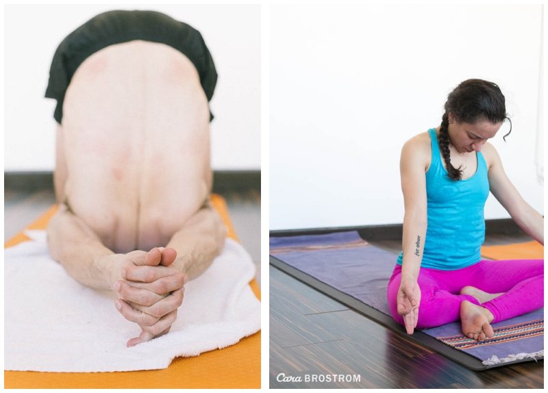 Finishing Poses, Mysore Style Ashtanga yoga. Photos by Cara Brostrom