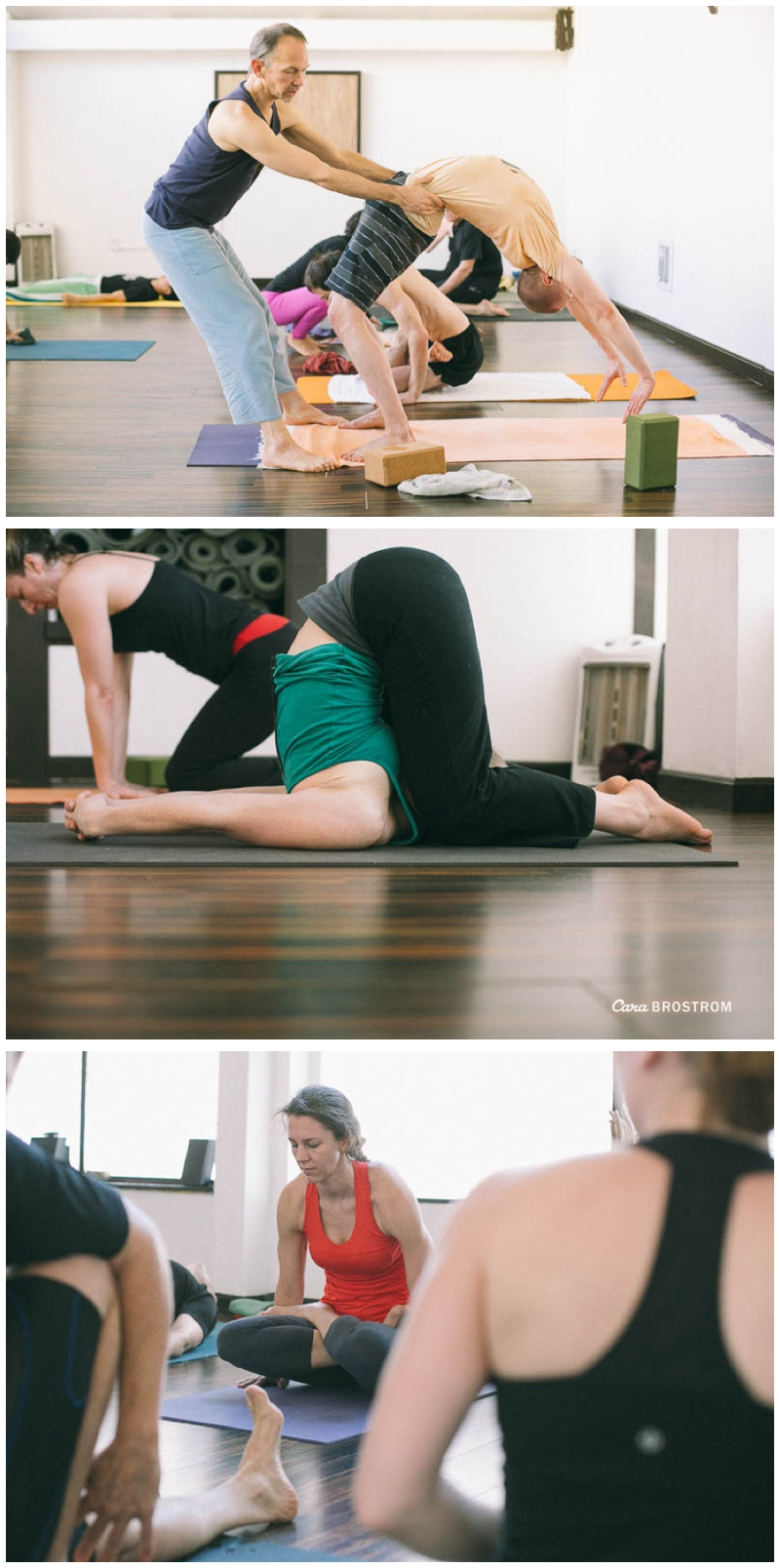 Finishing poses. Mysore Style Ashtanga Yoga - Photos by Cara Brostrom
