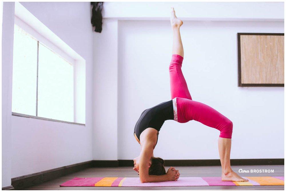 Eka Pada Viparita Dandasana Ashtanga Yoga