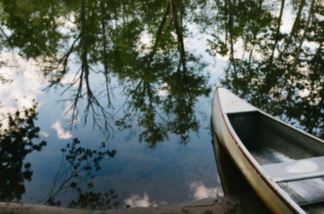 #optoutside canoe camping