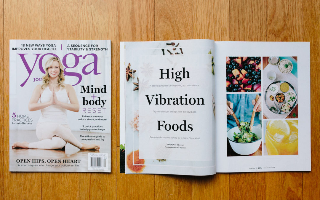 yoga journal food feature