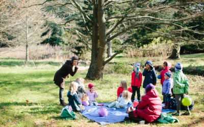 outdoor nature playschool